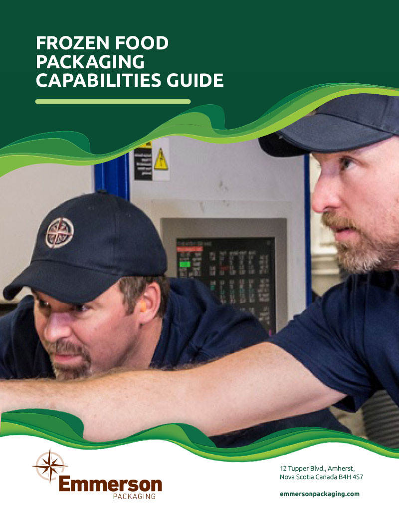 Frozen Food Packaging Capabilities Guide cover
