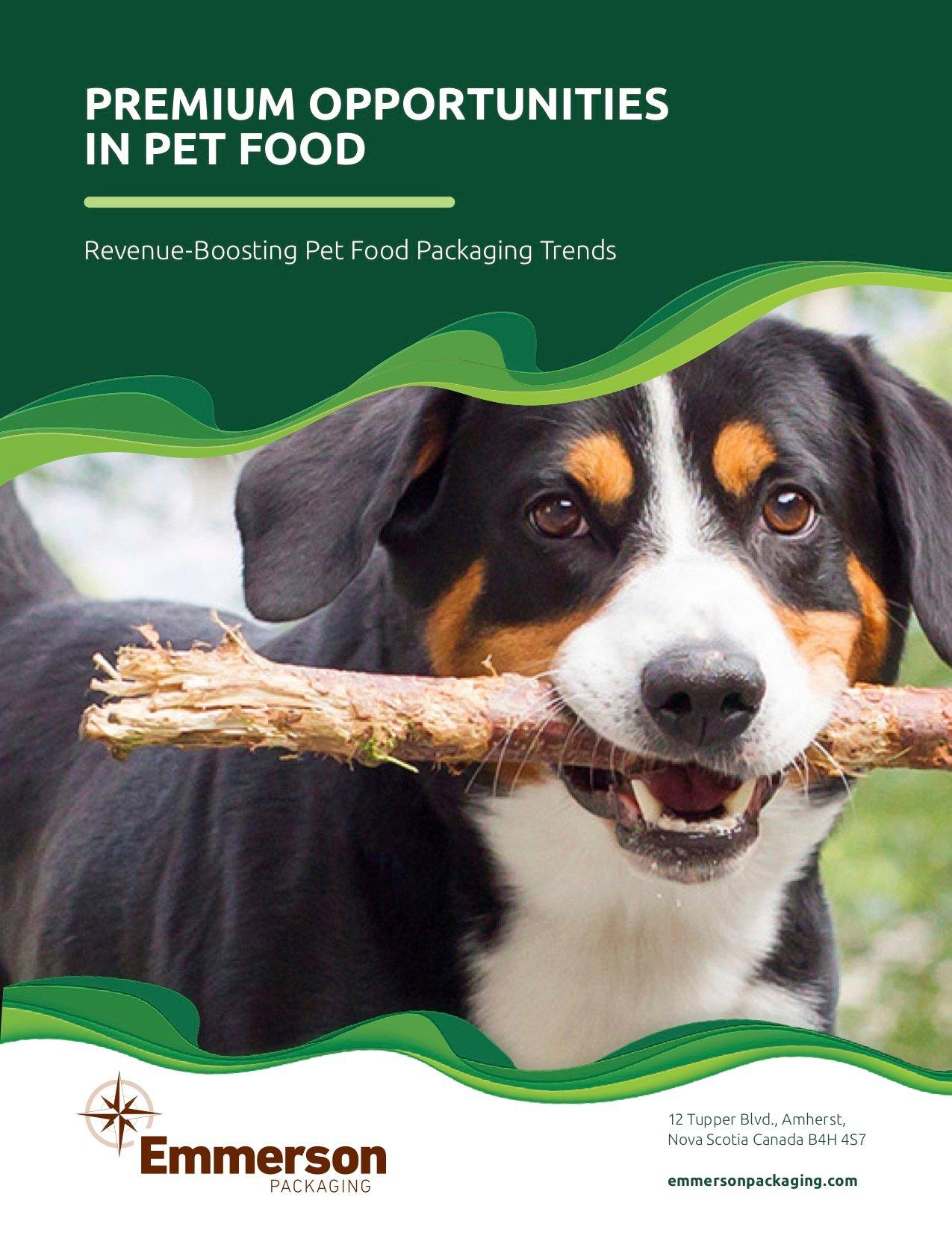 Premium Opportunities in Pet Food cover